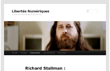 http://www.libertesnumeriques.net/evenements/stallman-19octobre2011#video