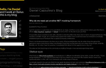 http://blogs.clariusconsulting.net/kzu/why-do-we-need-yet-another-net-mocking-framework/