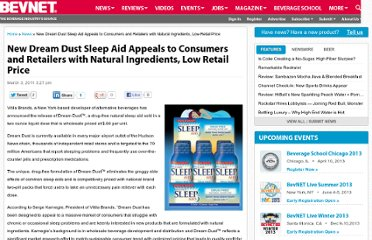 http://www.bevnet.com/news/2011/new-dream-dust-sleep-aid-appeals-to-consumers-and-retailers-with-natural-ingredients-low-retail-price