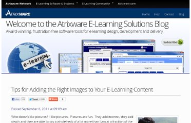 http://www.atrixware.com/blog/wp/tips-for-adding-the-right-images-to-your-e-learning-content/