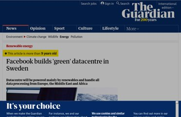 http://www.guardian.co.uk/environment/2011/oct/27/facebook-green-datacentre-sweden-renewables