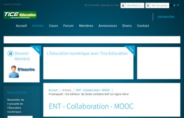 http://www.tice-education.fr/index.php?option=com_content&view=article&id=557:framapad-un-editeur-de-texte-collaboratif-en-lignelibre&catid=73:ent&Itemid=247