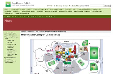 http://www.brookhavencollege.edu/maps/main-campus.aspx