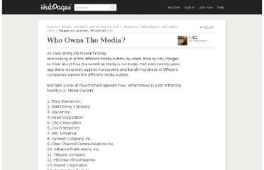 http://jtt.hubpages.com/hub/Who-Owns-The-Media