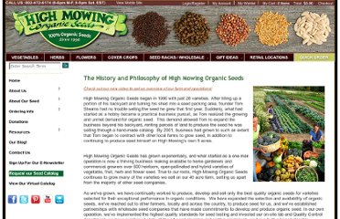 http://www.highmowingseeds.com/the-history-and-philosophy-of-high-mowing-organic-seeds.html
