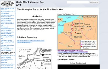 https://sites.google.com/a/adamscott.ca/world-war-i-museum-feb-2010/the-strategies-room-for-the-first-world-war