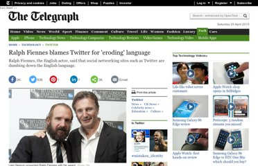http://www.telegraph.co.uk/technology/twitter/8853427/Ralph-Fiennes-blames-Twitter-for-eroding-language.html