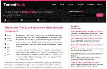 http://torrentfreak.com/pirates-are-the-music-industrys-most-valuable-customers-100122/