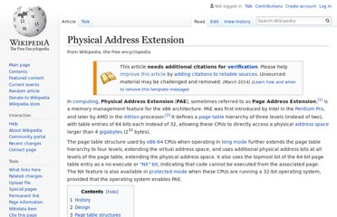 http://en.wikipedia.org/wiki/Physical_Address_Extension