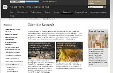 http://www.metmuseum.org/en/research/conservation-and-scientific-research/scientific-research