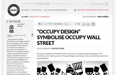 http://owni.fr/2011/10/28/occupy-design-symbolise-occupy-wall-street/