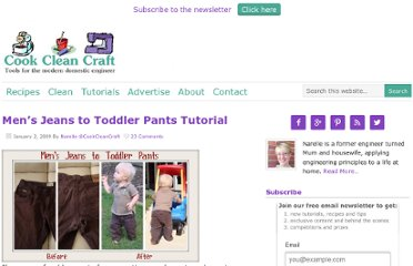 http://www.cookcleancraft.com/2009/01/mens-jeans-to-toddler-pants-tutorial.html