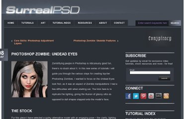 http://www.surrealpsd.com/photoshop-zombie-undead-eyes/