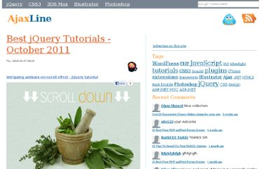 http://www.ajaxline.com/best-jQuery-tutorials-october2011