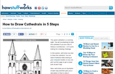 http://tlc.howstuffworks.com/family/how-to-draw-cathedrals.htm