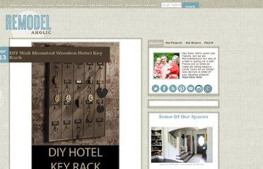 http://www.remodelaholic.com/2010/09/diy-wall-mounted-wooden-hotel-key-rack/