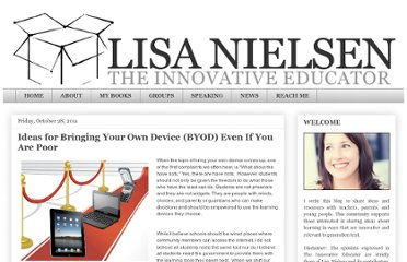 http://theinnovativeeducator.blogspot.com/2011/10/ideas-for-bringing-your-own-device-even.html