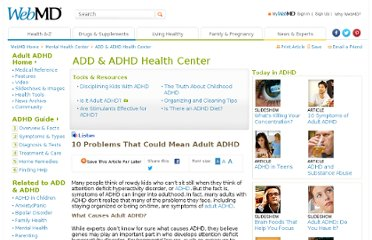 ADHD Adult Videos. Adult ADHD Treatments. HealthyPlace on Twitter