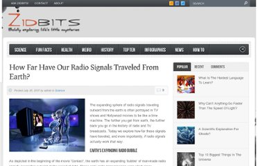 http://zidbits.com/2011/07/how-far-have-radio-signals-traveled-from-earth/