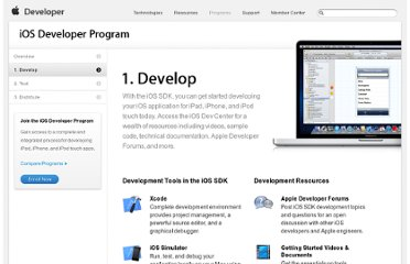 http://developer.apple.com/programs/ios/develop.html