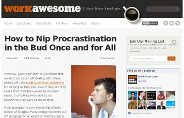http://workawesome.com/productivity/procrastination/