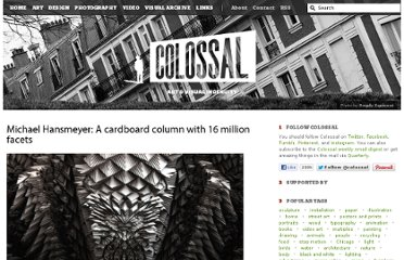 http://www.thisiscolossal.com/2011/02/michael-hansmeyer-a-cardboard-column-with-16-million-facets/