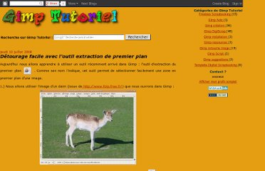 http://gimptutoriel.blogspot.com/2008/07/detourage-facile-avec-loutil-extraction.html