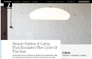http://www.fastcodesign.com/1665305/simple-genius-a-lamp-that-emulates-the-cycle-of-the-sun