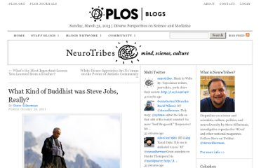 http://blogs.plos.org/neurotribes/2011/10/28/what-kind-of-buddhist-was-steve-jobs-really/