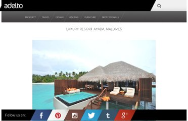 http://www.adelto.co.uk/luxury-resort-ayada-maldives/