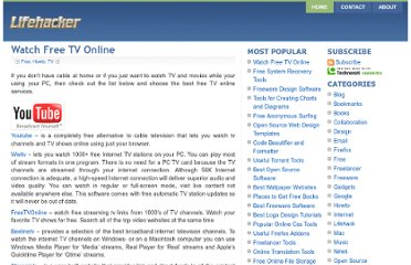 http://lifehacker.biz/articles/watch-free-tv-online/