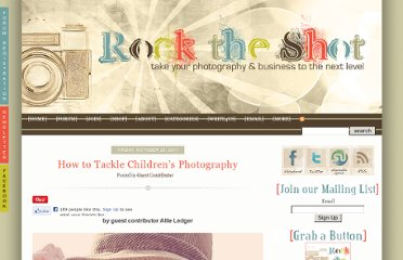 http://www.rocktheshotforum.com/2011/10/28/how-to-tackle-childrens-photography/