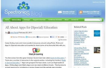 http://www.spectronicsinoz.com/blog/new-technologies/all-about-apps-for-special-education/