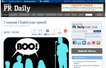 http://www.prdaily.com/Main/Articles/7_reasons_I_hated_your_speech_9902.aspx