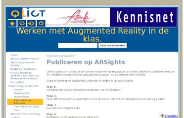 https://sites.google.com/site/werkenmetar/informatie-leerkracht/publiceren-met-arsights