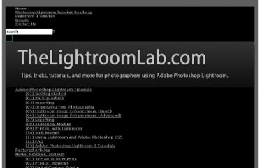 http://thelightroomlab.com/category/tutorials/