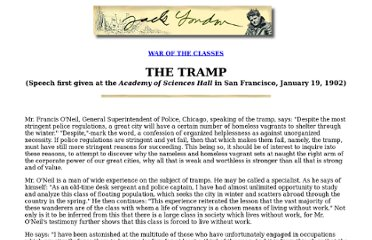 http://london.sonoma.edu/Writings/WarOfTheClasses/tramp.html