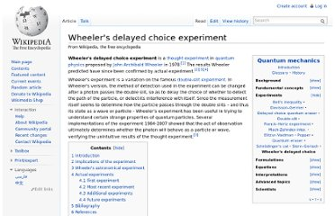 http://en.wikipedia.org/wiki/Wheeler%27s_delayed_choice_experiment