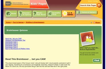 http://kids.niehs.nih.gov/games/riddles/questions.htm