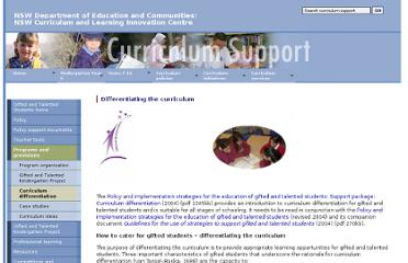 http://www.curriculumsupport.education.nsw.gov.au/policies/gats/programs/differentiate/index.htm