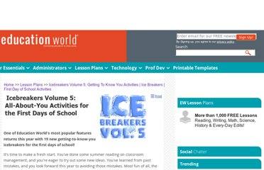 http://www.educationworld.com/a_lesson/lesson/icebreakers_for_kids_2.shtml