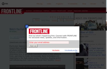 http://www.pbs.org/wgbh/pages/frontline/shows/persuaders/view/