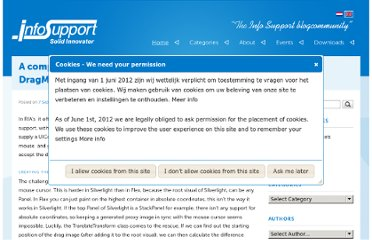 http://blogs.infosupport.com/a-complete-silverlight-3-drag-and-drop-solution/