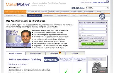 http://www.marketmotive.com/internet-marketing-training-and-certification-signup?topic=WebAnalytics