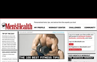 http://my.menshealth.com/exclusive-content/100-best-fitness-tips?page=0,1