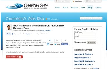 http://www.channelship.ie/blog/post-5830-how-to-activate-status-updates-on-your-linkedin-company-page.php
