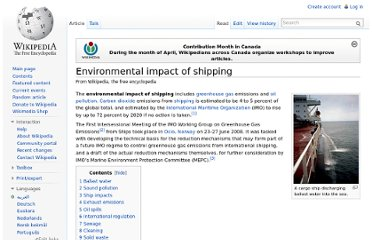 http://en.wikipedia.org/wiki/Environmental_impact_of_shipping