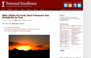 http://personalexcellence.co/blog/why-i-wake-up-early-and-9-reasons-you-should-do-so-too/