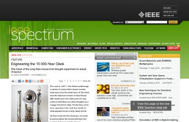 http://spectrum.ieee.org/geek-life/profiles/engineering-the-10-000year-clock/0