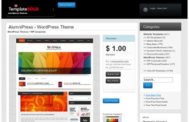 http://www.templatesold.com/templates/wordpress-themes/wp-corporate/alumnipress/5676.html